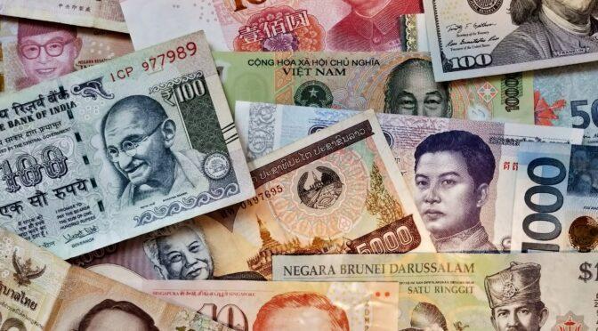 アジア各国の現在の為替レート