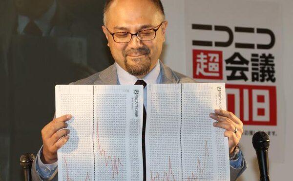 ニコニコ超会議2018「向谷実Produce!超鉄道ブース」の「学鉄×鉄道会社 公開模擬面接」で内田クレペリン検査が取り上げられました。